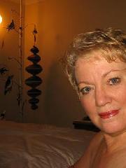 Selfie von hübscher reifen Frau aus Franken