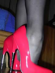 Pink Heels Lady aus HH