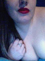 Livecam Selfie von BBW Lucine